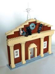 バック・トゥ・ザ・フューチャーの時計台レゴ