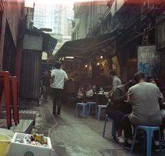 雲呑面(ワンタン麺)屋通り