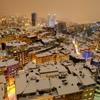 イスタンブール雪夜景