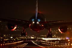 ウォーズマン・・・(¬з¬) 飛行機夜景愛好会