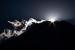 ダイヤと彩雲と