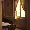 盛夏、窓から射す光