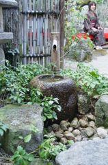 太宰府で見っけた裏庭