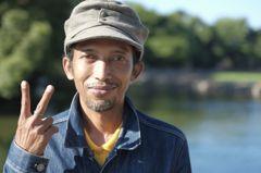 インドネシアのボート競技か何かの選手の方