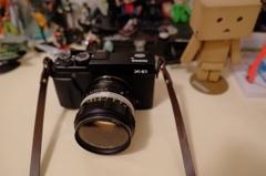 X-E1 + KONICA AR LENS 50mm F1.8