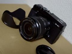 I bought it !! 【X-E1】
