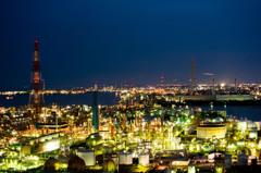 工場夜景01