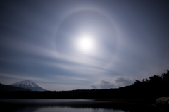 Moon halo