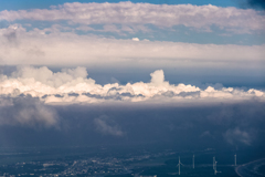 危なっかしい雲