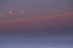 薄明の鳥海