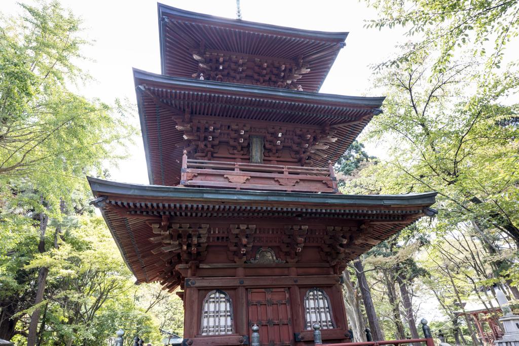 日吉神社 三重の塔 Ⅱ