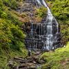 檜山滝に向かう