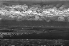 六月の層積雲