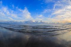船越海岸の夕雲 Ⅵ