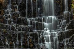 檜山滝秋景