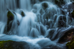三月の元滝 落流