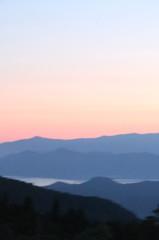 田沢湖遠景