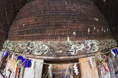 真山万体仏 祭壇