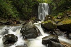亀田不動の滝 全景