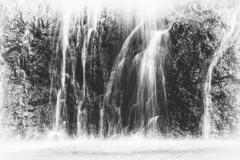 銚子の滝 滝壺の水勢
