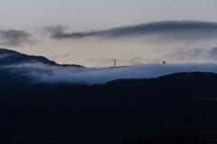 雲間のレーダー