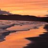 船越海岸の夕雲 夕焼け Ⅱ