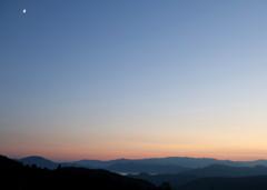 田沢湖夕景