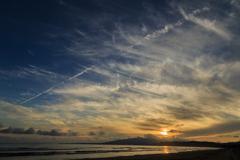 船越海岸の夕雲 Ⅲ