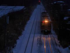 奥羽本線 寒い朝 Ⅱ