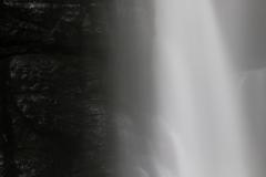 元滝不動の滝 水煙