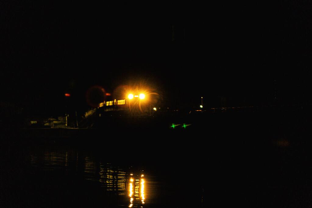 夜の男鹿線