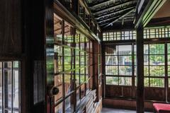 三浦館 ガラス戸