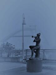 朝霧のトランペッター