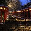 雪情景2015⑩(貴船神社1)
