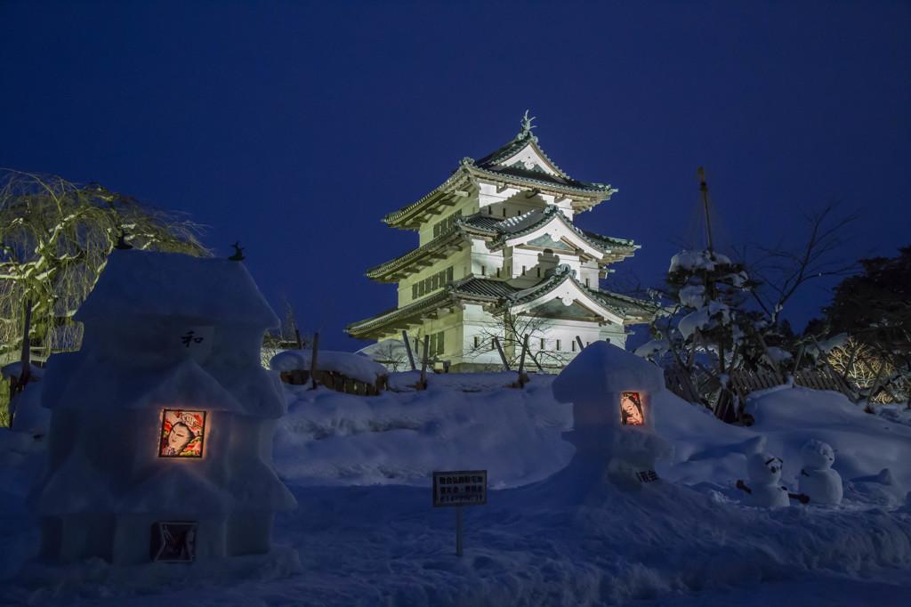 弘前雪燈籠まつり2015