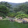 栗林公園の涵翠池