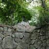 津山城の石垣と鐘楼