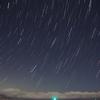 静岡県伊東港の夜景