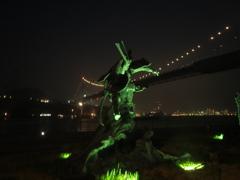 夜の関門海峡 ⑤