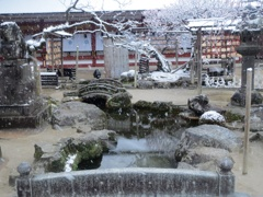 太宰府天満宮と雪 ⑦