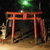 夜の神社にて②
