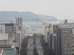 見渡す福岡市内の景色⑥