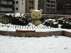雪の街中 ③