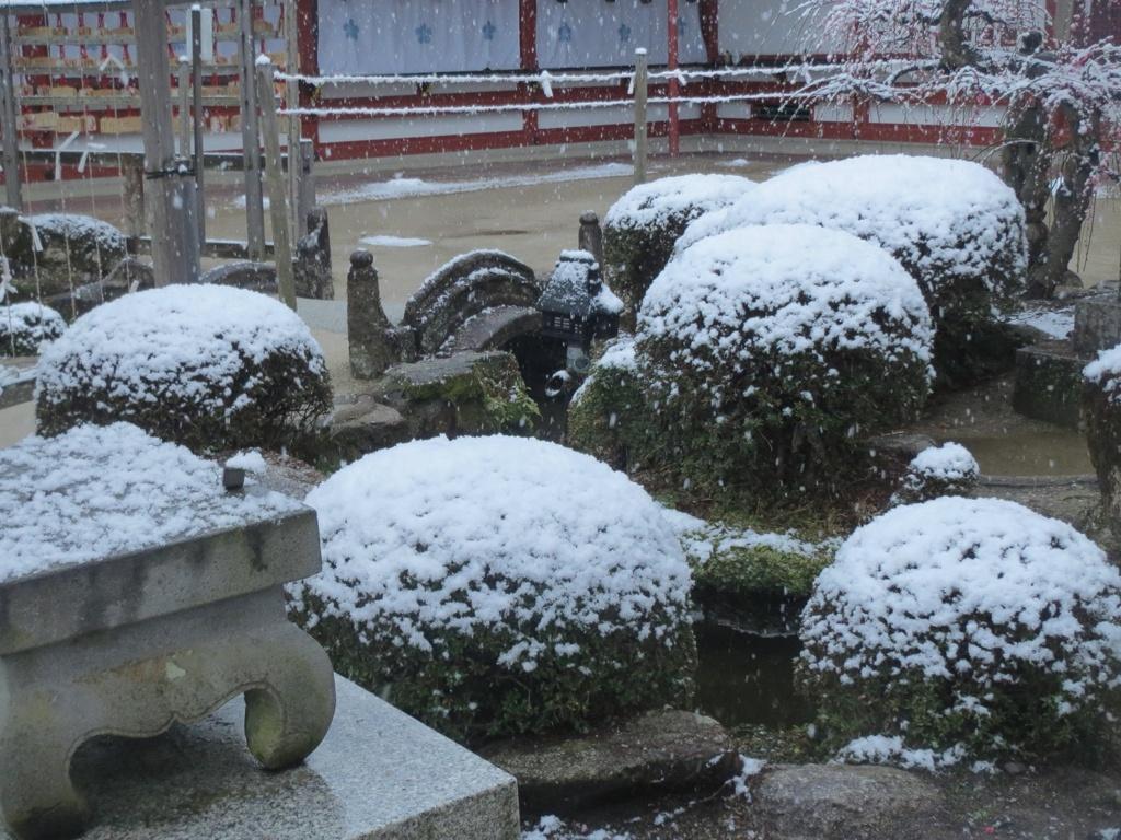 太宰府天満宮と雪 ⑥
