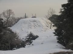 雪の積もった福岡県内⑧