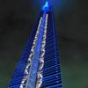夜の福岡タワーにて④
