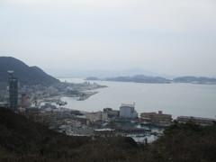 門司港 和布刈公園からの眺め ①
