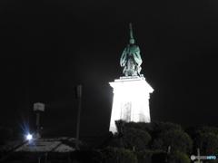 福岡市東公園の銅像