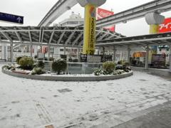 雪の街中 ⑥