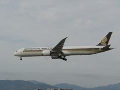 シンガポール航空 B787-10  9V-SCB
